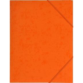 Budget elastikmappe, karton, orange