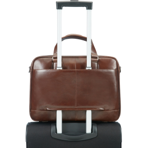 "Samsonite West Harbor Bailhandle 14.1"", brun"