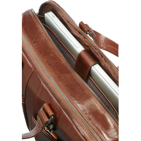 "Samsonite West Harbor Bailhandle 2C 15.6"", brun"