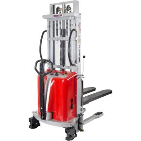 Stabler m/semi-elektrisk løft, 3500 mm, 1000 kg