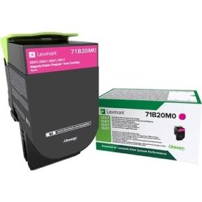 LEXMARK  71B20M0 Magenta tonerkassette, 2300 sider