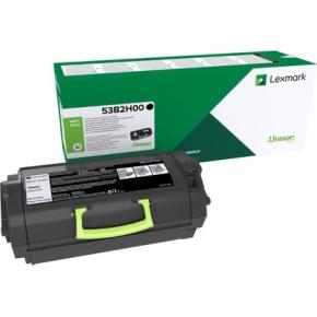 Lexmark 53B2H00 sort tonerkassette, 25000 sider