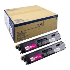 Brother TN900M tonere, Magenta, 6000s, twin-pack