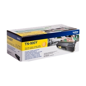 Brother TN900Y lasertonere, Gul , 6000s, twin-pack