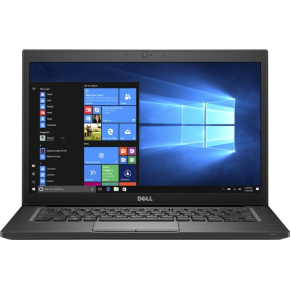 "Dell Latitude 7480 Notebook 14"" touchskærm, sort"