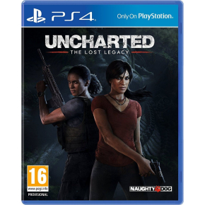 Uncharted: The Lost Legacy til PS4