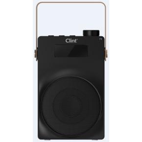 Clint F6 Transportabel DAB+/FM trådløs Radio