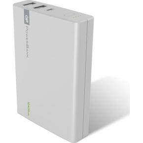 GP PowerBank Yolo 10400 mAh, hvid