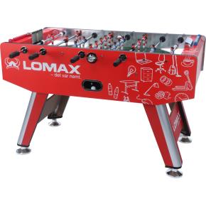 ProPlay Elite Bordfodbold i rød med Lomax Logo