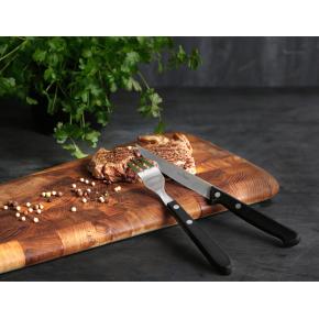 Raadvad Royal Steaksæt, 12 knive & 12 gafler