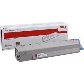 OKI 44059166 lasertoner, rød, 7300s