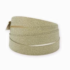 Glitterbånd Guld 10 mm, 100 m