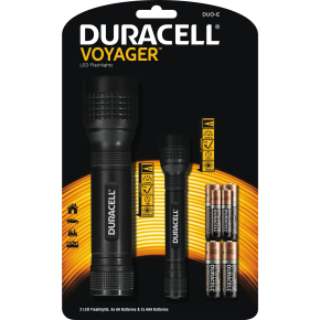 Duracell  Voyager Promo Pack DUO-E lommelygter