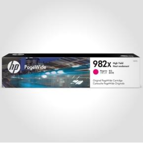 HP 982X XL PageWide blækpatron, magenta, 16.000s