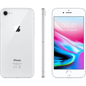 Apple iPhone 8, 256GB, sølv