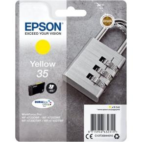 Epson 35 blækpatron, gul, 650s