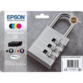 Epson 35 blækpatron, multipak, 4 farver
