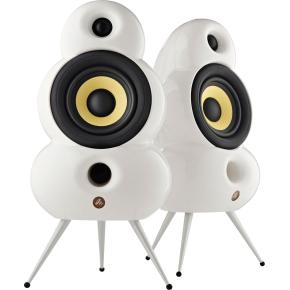 Podspeakers SmallPod Airplay højtalersæt, hvid