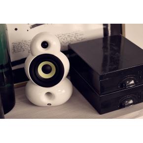 Podspeaker SmallPod Airplay højtaler, Hvid