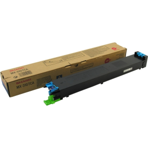 Sharp lasertoner, Cyan, 15000s