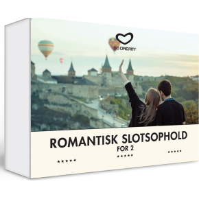 Oplevelsesgave - Romantisk slotsophold for 2