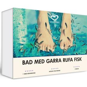 Oplevelsesgave - Bad med Garra Rufa-fisk