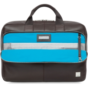 "Knomo Newbury briefcase 15"" computertaske, brun"