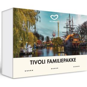 Oplevelsesgave - Tivoli Familiepakke