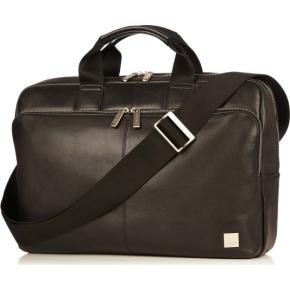 "Knomo Newbury briefcase 15"" computertaske, sort"