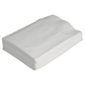 Papirserviet 80 x 105mm, 300 stk, hvid, dispo