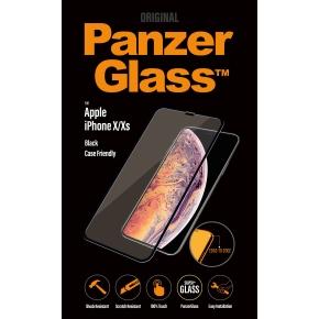 PanzerGlass Apple iPhone X, sort CaseFriendly