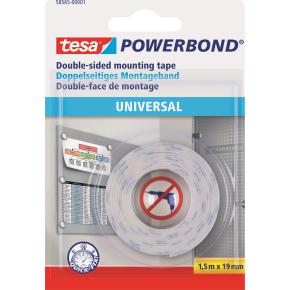 tesa Powerbond Universal monteringstape, 1,5 m