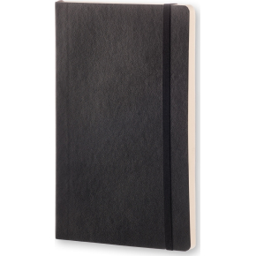 Moleskine Clas. Soft Notesbog Large, dotted, sort