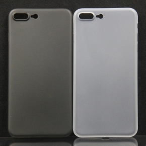 Twincase iPhone 8 plus case, transparent hvid