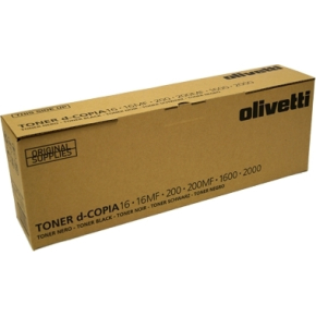 Olivetti lasertoner, sort, 15.000s