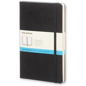 Moleskine Clas. Hard Notesbog Large, dotted, sort