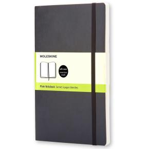 Moleskine Clas. Soft Notesbog Pocket, blank, sort