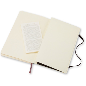Moleskine Clas. Soft Notesbog Large, linj., sort