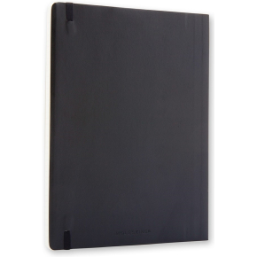 Moleskine Clas. Soft Notesbog XL, linjeret, sort