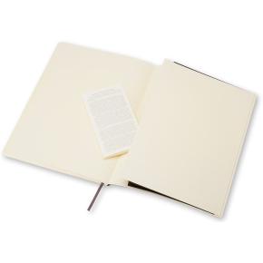 Moleskine Clas. Soft Notesbog XL, kvadreret, sort