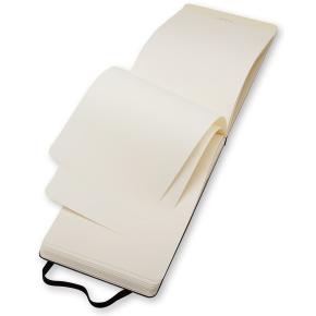 Moleskine Rep. Hard Notesbog Large, blank, sort