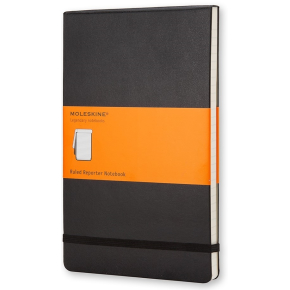 Moleskine Rep. Hard Notesbog Pocket, linj., sort