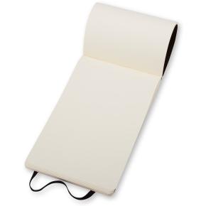 Moleskine Rep. Soft Notesbog Pocket, blank, sort