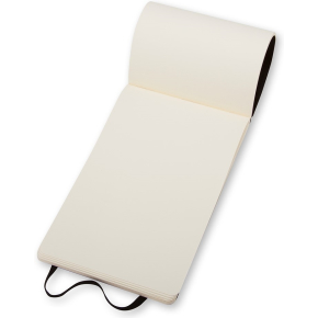 Moleskine Rep. Soft Notesbog Large, blank, sort