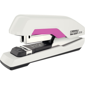 Rapid S50 Hæftemaskine, hvid/pink