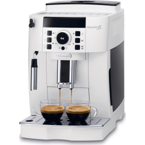 DeLonghi Magnifica kaffemaskine, hvid