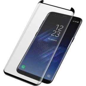 PanzerGlass skærmbeskyttelse til Samsung S8+, sort
