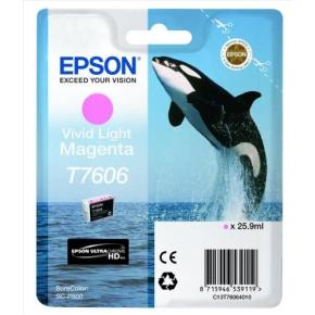 Epson C13T76064010 blækpatron, klar lys magenta