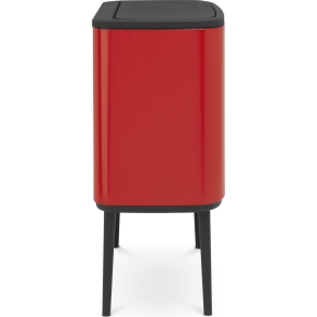 Brabantia BO Touch Bin 36 L, passion red