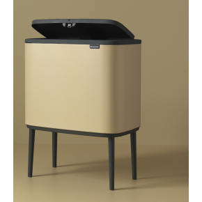 Brabantia BO Touch Bin 36 L, golden beach